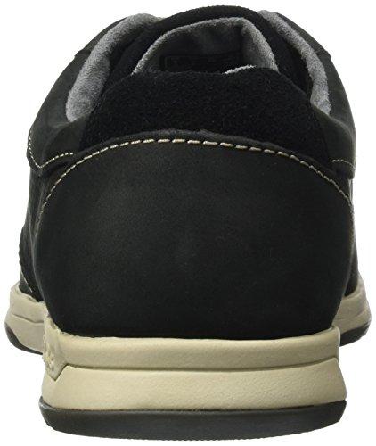 Clarks Stafford Park5, Chaussures de ville homme Noir (Black Nubuck)