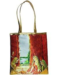 Angelfish Digital Printed Messenger Bag/ Utility Hand Bag - B079N4GNV6