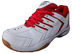 Port Unisex SUPER SPARK White Synthetic Tennis Shoes(Size 11 Ind/Uk)