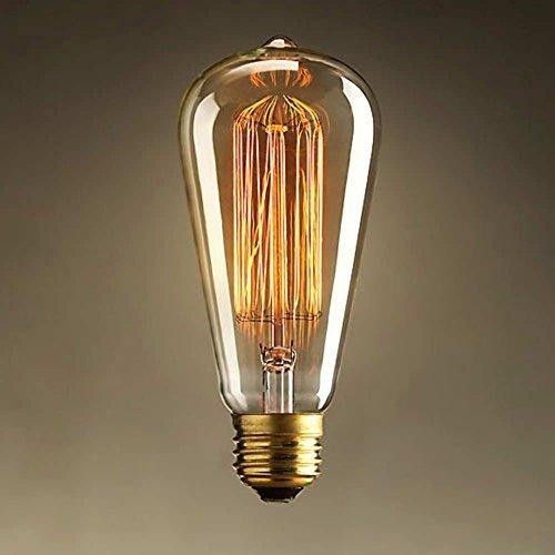 Vintage Edison Style E27Squirrel Cage Light Bulb