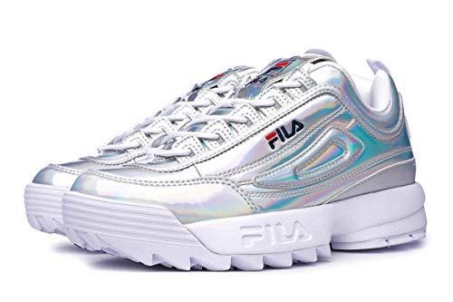 Fila 1010747 Silver Size:8 (Baby Schuhe Fila)