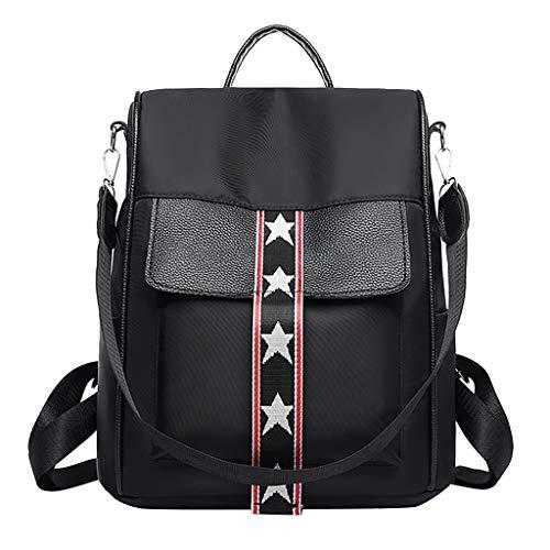 AIni Rucksack Damen Damen Mode Solide Rucksack Schultasche Beiläufiges Reise Student Daypack Tasche Schulrucksack Business Wandern Reisen Camping Tagesrucksack