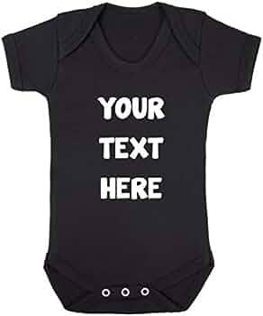 Personalised Baby Vest Unisex Metallic Clothes Grow Bodysuit Penguin Cute Gift