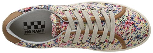 No Name Plato, Baskets Basses Femme Multicolore (Drip Pink)