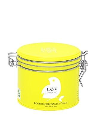Rooibos Citronnelle-cassis - Boite Metal 100g