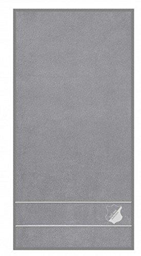 TSG 1899Hoffenheim Serviette de douche Gris 70x 140cm 100% coton fan