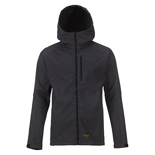 Burton Herren Jacke Process Softshell, True Black Heather, S | 09009520375859