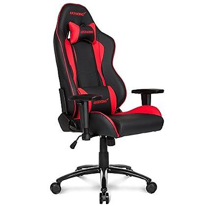 AKRACING  Nitro - Silla de gaming, negro/rojo