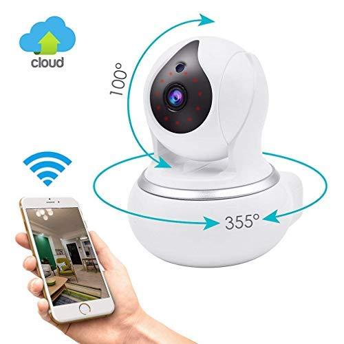 N2N WLAN Kamera HD überwachungskamera,720P IP WLAN Kamera Innen für Heimsicherheit,Sicherheitskamera mit Baby Monitor Video(720P)