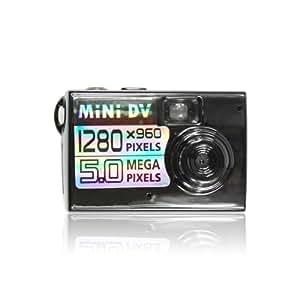 World's Smallest Digital Camera - Black (5.0MP , HD 1280*960),MINI DV DVR,Your perfect Camera