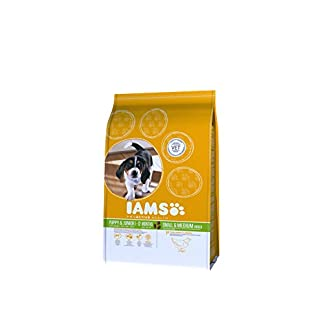 IAMS for Vitality Small/Medium Breed Puppy Dry Dog Food with Fresh Chicken, 3 kg 18