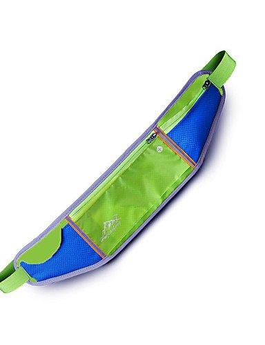 ZQ n/a L Gürteltasche Legere Sport / Laufen / Reisen Draußen / Leistung Wasserdicht / Multifunktions andere Nylon N/A red+green
