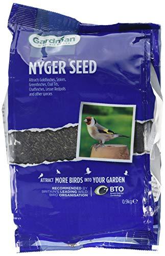 Gardman A06440 Graines de Niger, Multicolore, 0.9 kg 0.9 kg Noir