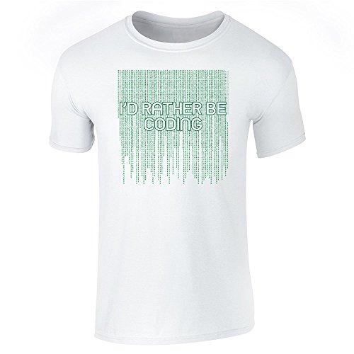 Pop Threads Herren T-Shirt, Weiß, 843937