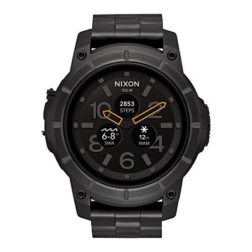 NIXON Mission SS Black A1216000 Men Black Watch