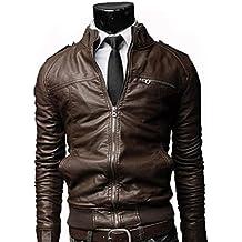 Amazon.it  giacca vera pelle uomo 7cb0141f3ea