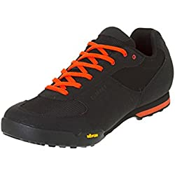 Giro Rumble VR MTB, Zapatos de Bicicleta de Montaña para Hombre, Multicolor (Black/Glowing Red 000), 44.5 EU