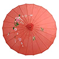 Gyratedream Paper Umbrella Parasol Chinese Craft Bamboo Umbrella Classical Dance Performance Props Home Decoration Accessories