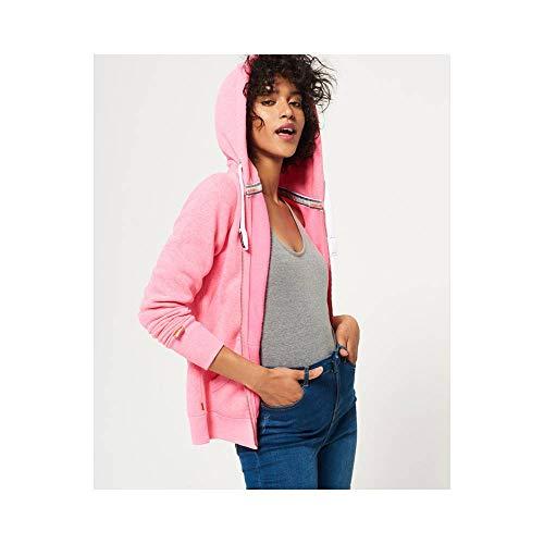 Superdry - Sudadera con capucha - para mujer Rosa Blizzard Pink Snowy (Gw2) Medium