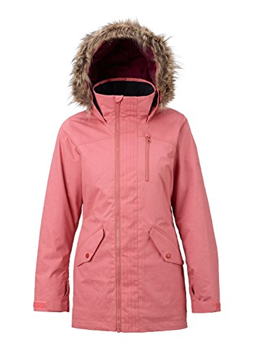 Burton Damen Hazel Jacket Snowboardjacke, Dusty Rose Wax, XS Burton Snowboard Jacke Rot