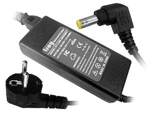 Troy - Adaptateur secteur et un chargeur -alimentation- 20V / 4,5A pour FUJITSU SIEMENS pc portable ESPRIMO Mobile V5505, V5515, V5535, V5545, Xa 1526, 1567, 2528, 2529, 142S