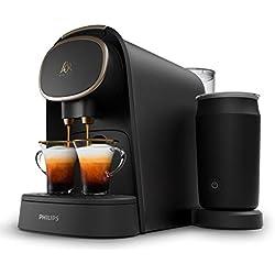 L'OR Barista LM8018/90 Machine à Café à Capsules avec Mousseur à Lait - Premium