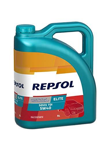 Repsol Elite Evolution 5W40 Sintetico Motori Benzina Diesel