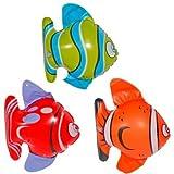 Kinderbadespaß Schwimmtier Badetier Reittier Clownfisch 157x94cm