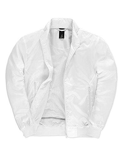 Jacket Trooper /Men White-White