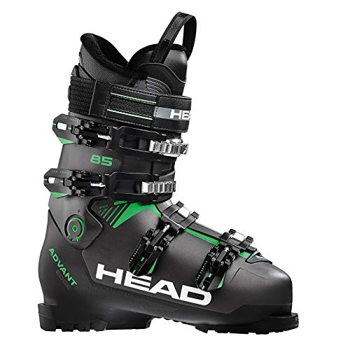 hsene Skischuhe ADVANT Edge 85, Anthracite/Black-Green 608201-27.0, 27.0 ()