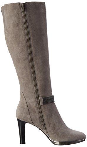 Belmondo, Damen Langschaft Stiefel, 703497 03, Grau (Grigio)