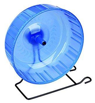 Trixie Plastic Exercise Wheel, 23 cm [Assorted Colors] 1