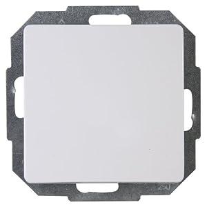 Kopp 650602089 Paris Universalschalter (Aus-und Wechselschalter) arktis-weiß