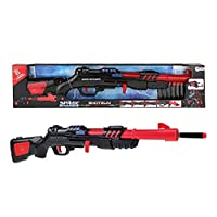 Toi-Toys 32587A Shotgun with Cartridges for Carnival Leisure Boys