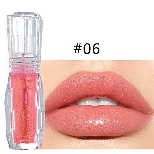 Gaddrt Lippenstift Lipgloss Lip Big Lips Multicolor Transparent Make Up Feuchtigkeitsspendende Extreme Primer (F) (Big Lip Gloss)
