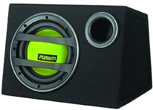 fusion en ab1100 caisson de basse actif 750 w 25 cm vert gps auto. Black Bedroom Furniture Sets. Home Design Ideas