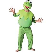 Rubies - Muppets disfraz de rana Gustavo infantil (881873-L)