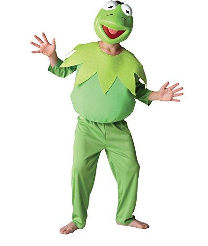 Rubie 's Offizielles Disney Muppets Deluxe Kermit Kostüm–groß, 7–8Jahre