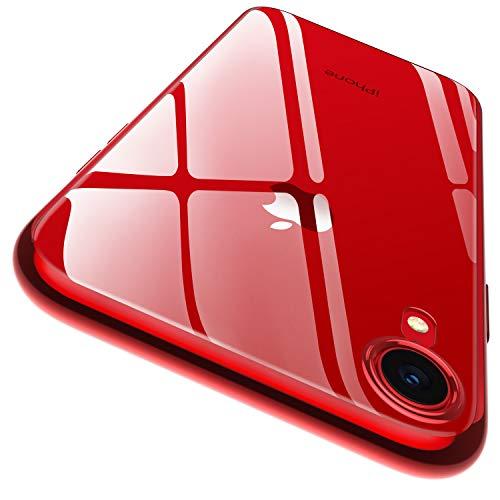 rivenditore all'ingrosso 14101 08e63 RANVOO Custodia iPhone XR Trasparente Cover Slim per iPhone XR Slim Ultra  Sottile da 6,1