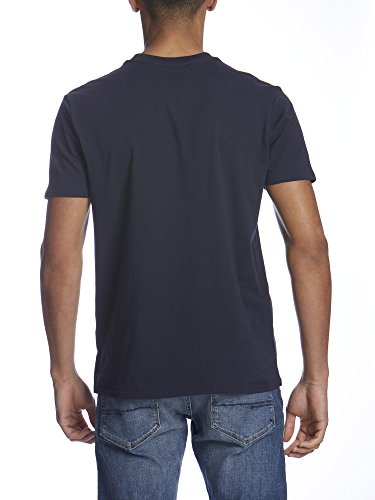 Bench Herren T-Shirt Corporation F Blau (Dark Navy Blue NY031)