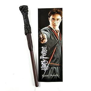 The Noble Collection Harry Potter Varita Pluma y Conjunto de marcadores. 5