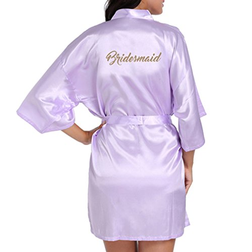 Yying Morning of Wedding Party Robe Bridesmaid Robes