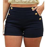 Pantalones Cortos De La Cintura Elástico Corta De La Moda 2018 Pantalones Casuales Más El Tamaño 5XL De La Moda