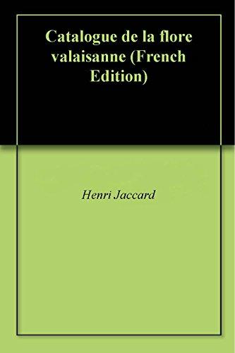 Téléchargement Catalogue de la flore valaisanne pdf