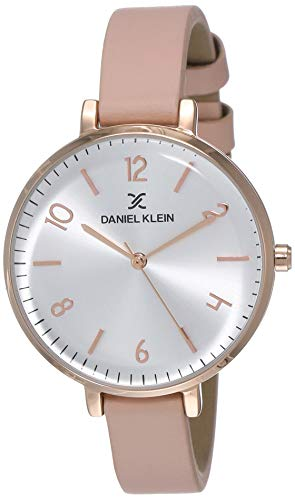 Daniel Klein Analog Silver Dial Women's Watch-DK11983-6