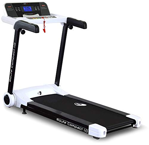 Get Fit Tapis Roulant Motorizzato 2 HP 16Km/h Route Compact 1.0