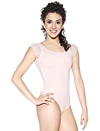So Danca Lace Sleeve And Back Leotard 8329cd128