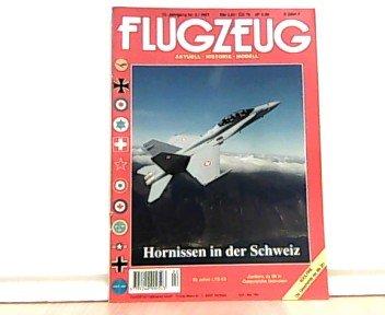 Flugzeug. Aktuell - Historie - Modell. Themen u.a.: Hornissen in der Schweiz. 13. Jahrgang. Nr. 2, 1997.