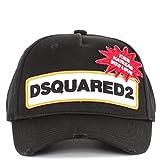 DSQUARED2 Herren Accessoires Schwarze Baseball Cap Mit Logo FW 2019