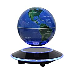 Idea Regalo - Levitazione magnetica Galleggiante Mappamondi Mappa del mondo Rotazione - Globo di gravità per il regalo educativo - Decorazione della scrivania in scuola d'ufficio - Dracarys (EUR spina)